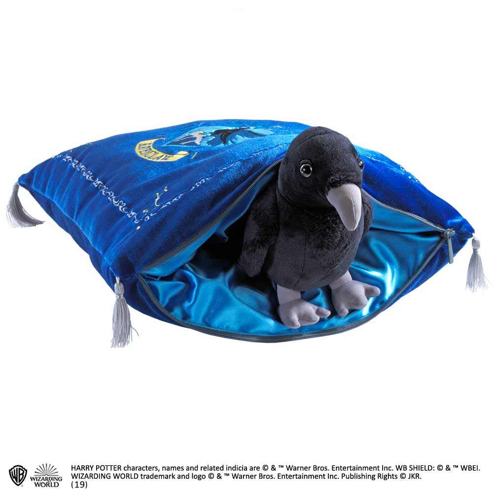 Harry Potter: Plush Ravenclaw House Mascot and Cushion