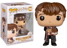 Funko Pop! Harry Potter: Neville with Monster Book #116