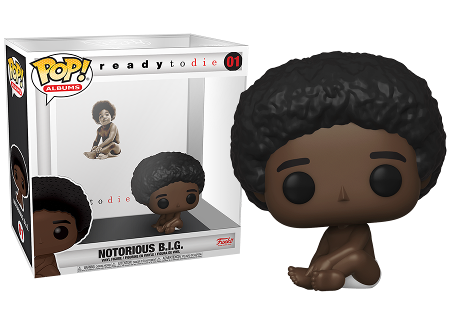Funko Pop! Albums: Notorious B.I.G. - Ready to Die #01