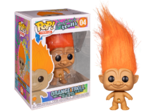 Funko Pop! Good Luck Trolls: Orange Troll #04