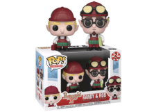 Funko Pop! Town Peppermint Lane: Randy and Rob