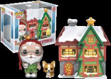 Funko Pop! Town Peppermint Lane: Santa and Nutmeg #01