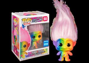 Funko Pop! Good Luck Trolls: Pink Troll (WonderCon) #03