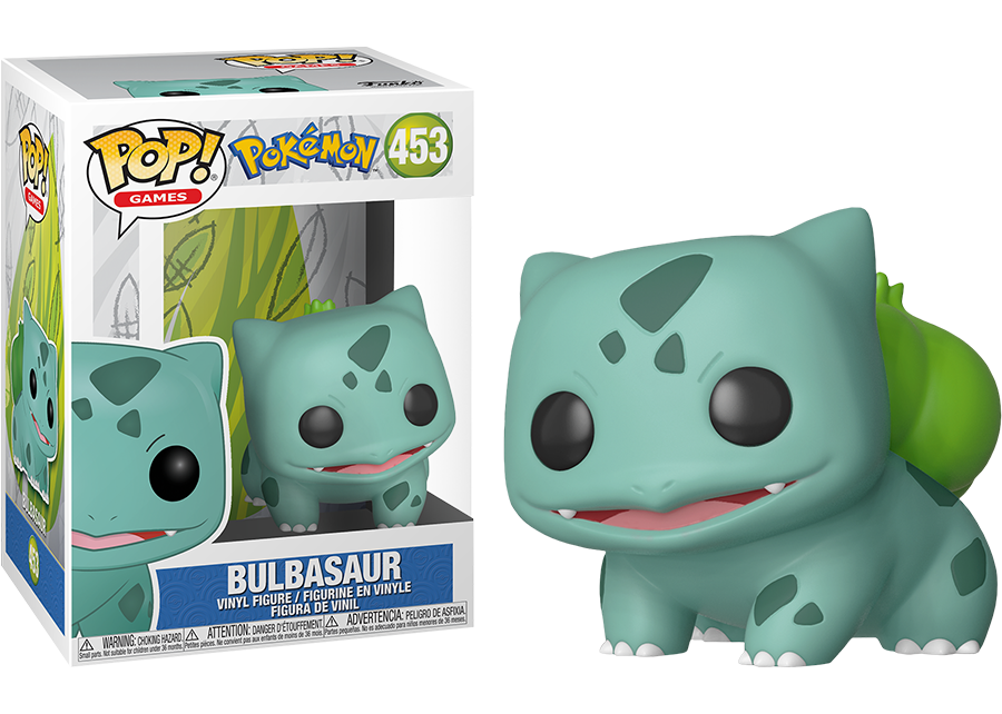 Funko Pop! Pokémon: Bulbasaur #452