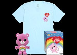 Funko Pop! & Tee: Cheer Bear Flocked #351