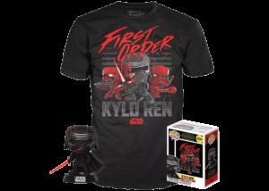 Funko Pop! & Tee Star Wars: First Order: Kylo Ren #308
