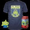 Funko Pop! & Tee: Toy Story 4: Alien #525