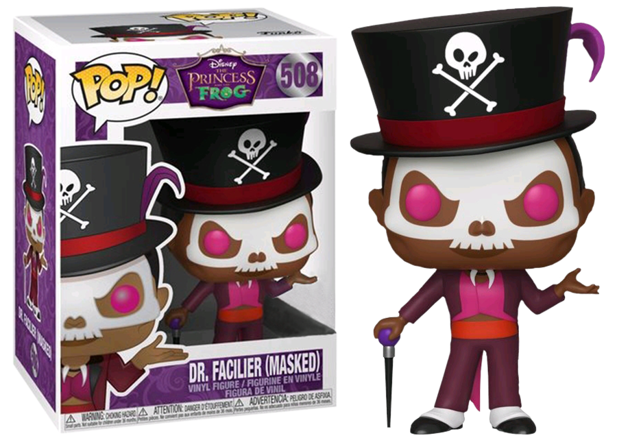Funko Pop Princess And The Frog Dr Facilier 508