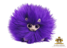 Harry Potter: Purple Pygmy Puff Plush