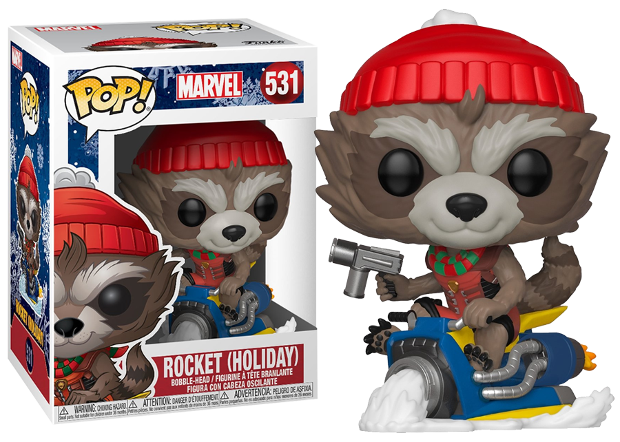 Funko Pop! Holiday Rocket #531