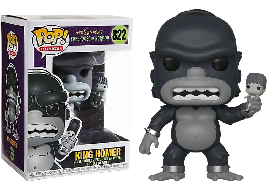 Funko Pop! The Simpsons: King Homer #822