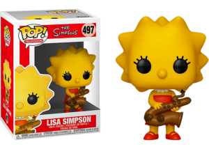 Funko Pop! The Simpsons: Lisa Simpson #497
