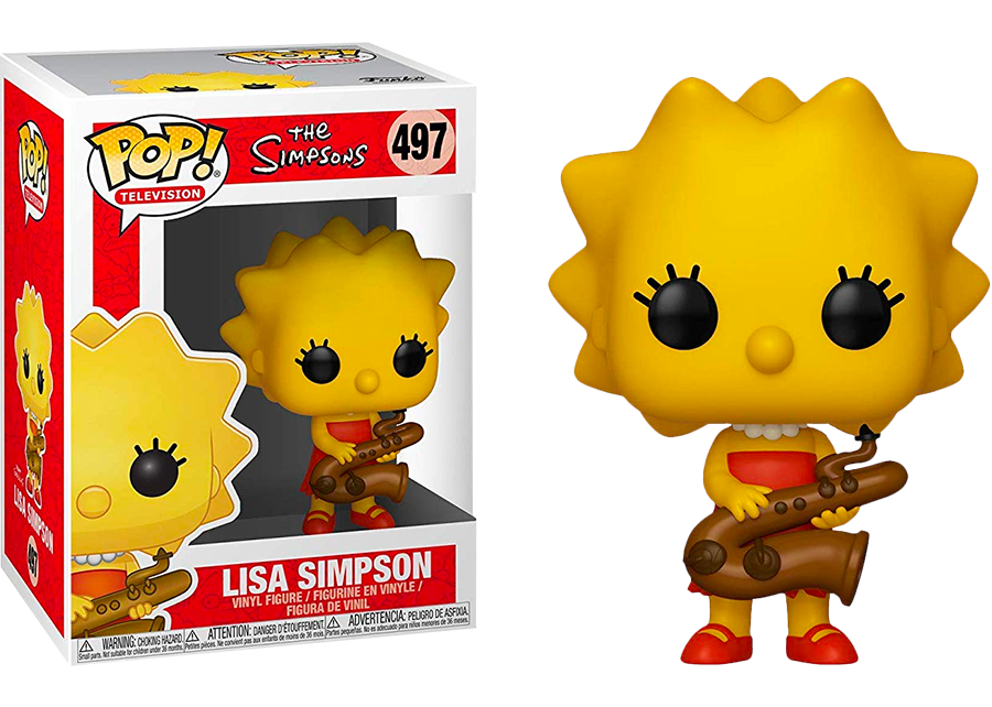 Funko Pop! The Simpsons: Lisa Simpson #497
