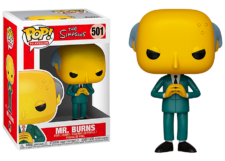 Funko Pop! The Simpsons: Mr. Burns #501
