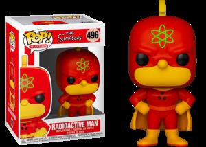 Funko Pop! The Simpsons: Radioactive Man #496