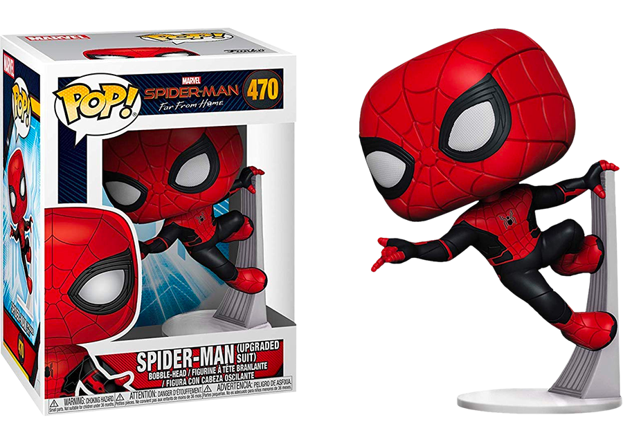 Funko Pop! Spider-Man: Upgraded Suit #470