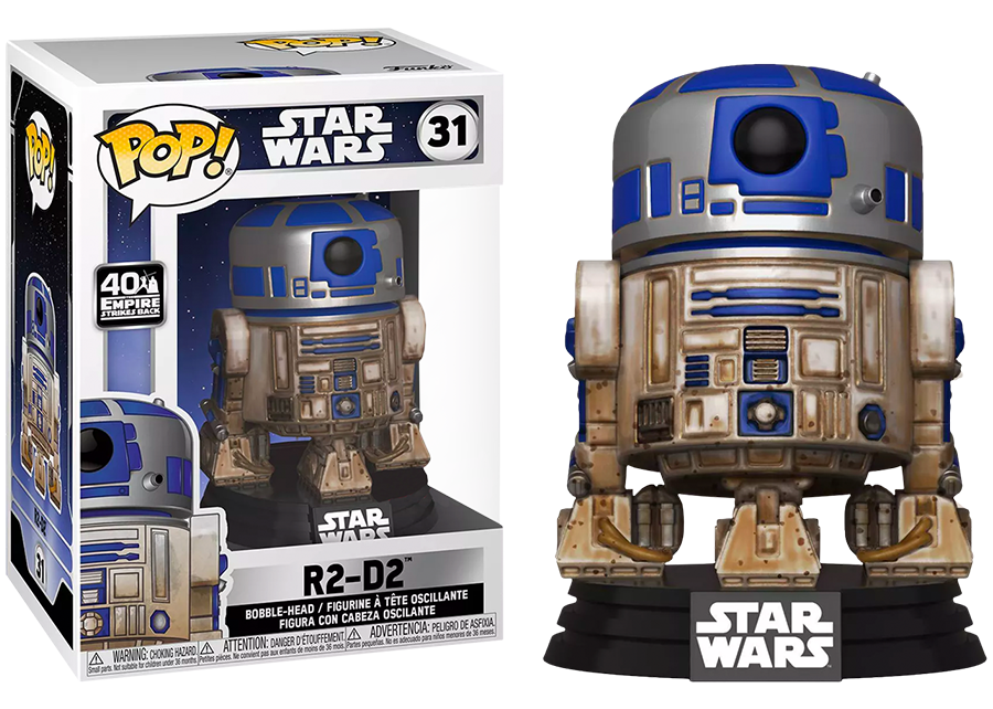 Funko Pop! Star Wars: Dagobah R2-D2 #31
