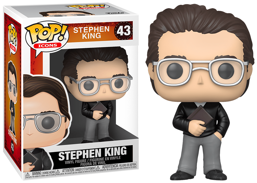 Funko Pop! Icons: Stephen King #43