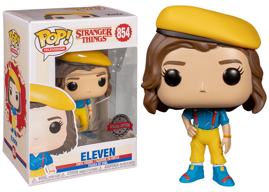 Funko Pop! Stranger Things: Eleven in Yellow Outfit #854