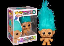 Funko Pop! Good Luck Trolls: Teal Troll #02