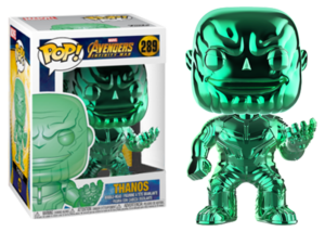 Funko Pop! Avengers Infinity War: Thanos (chrome/green) #289