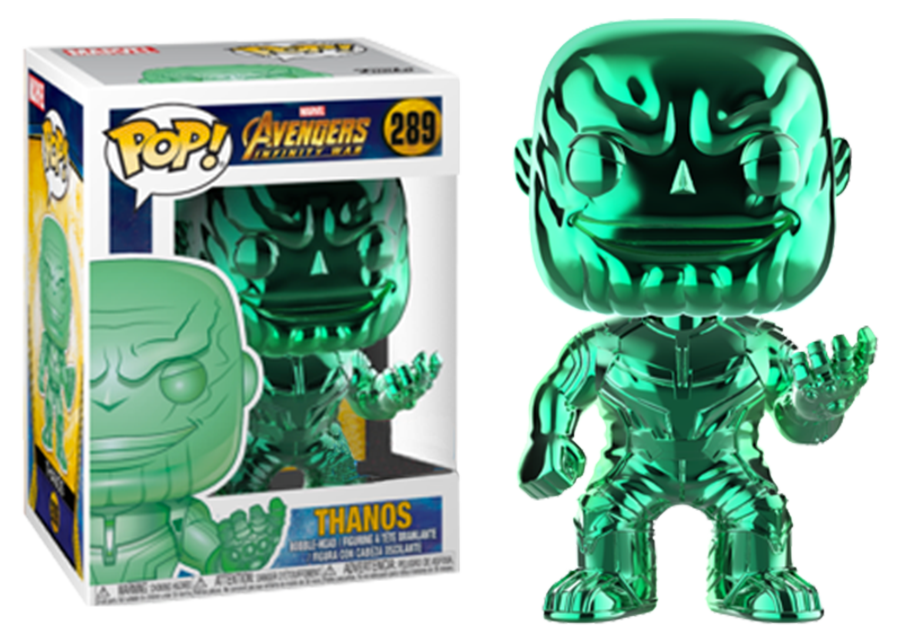 Funko Pop! Avengers Infinity War: Thanos (chrome/green) #289