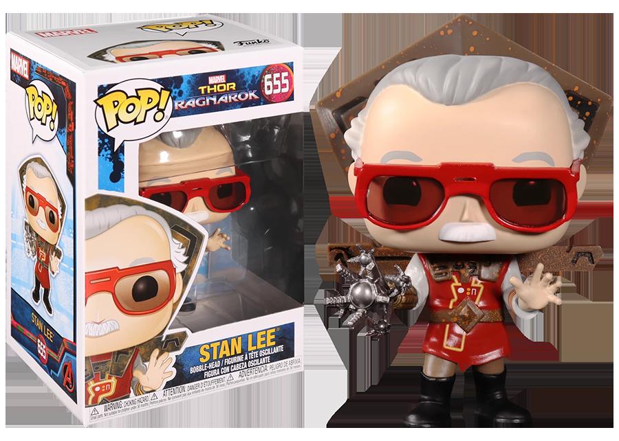 Funko Pop! Thor Ragnarok: Stan Lee #655