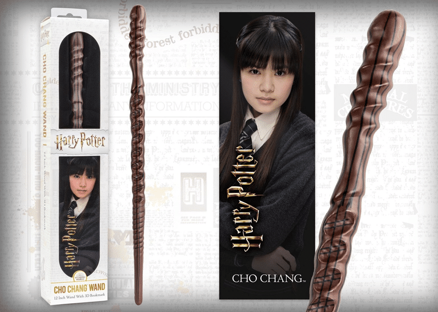 Harry Potter: Wand with Bookmark: Cho Chang