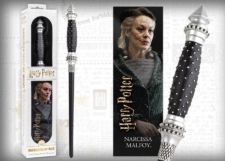 Harry Potter: Wand with Bookmark: Narcissa Malfoy