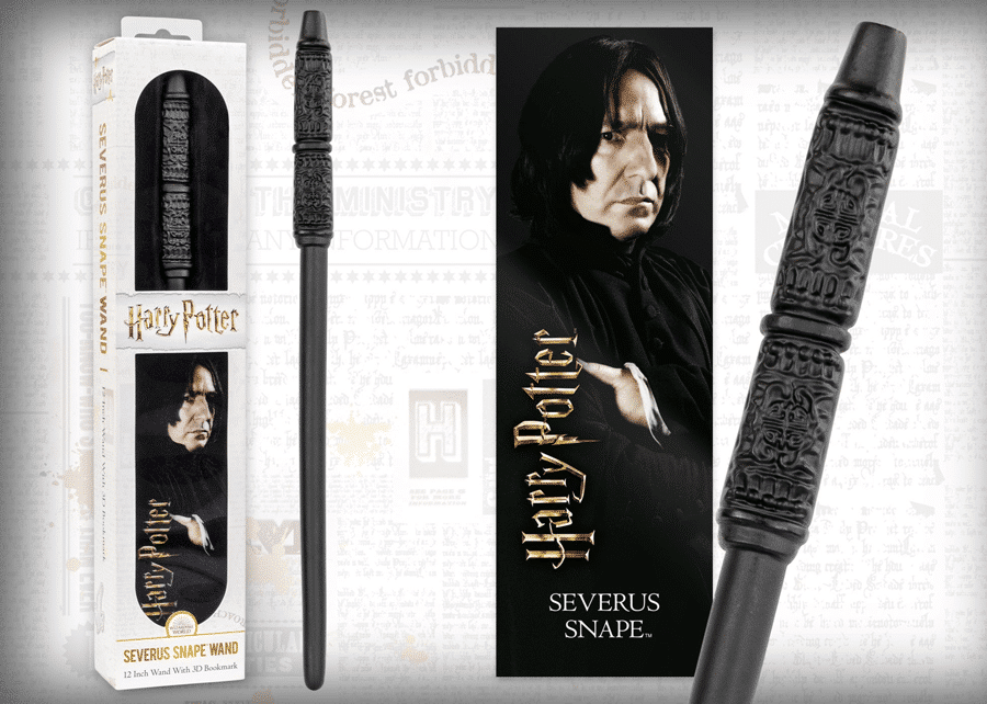 Harry Potter: Wand with Bookmark: Severus Snape