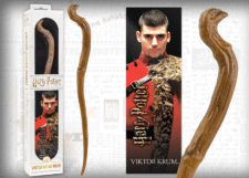 Harry Potter: Wand with Bookmark: Viktor Krum