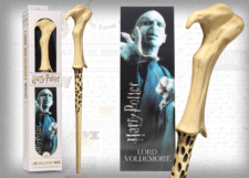 Harry Potter: Wand with Bookmark: Lord Voldemort
