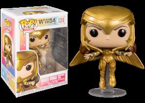 Funko Pop! Wonder Woman 84: Gold Armor Flying #324