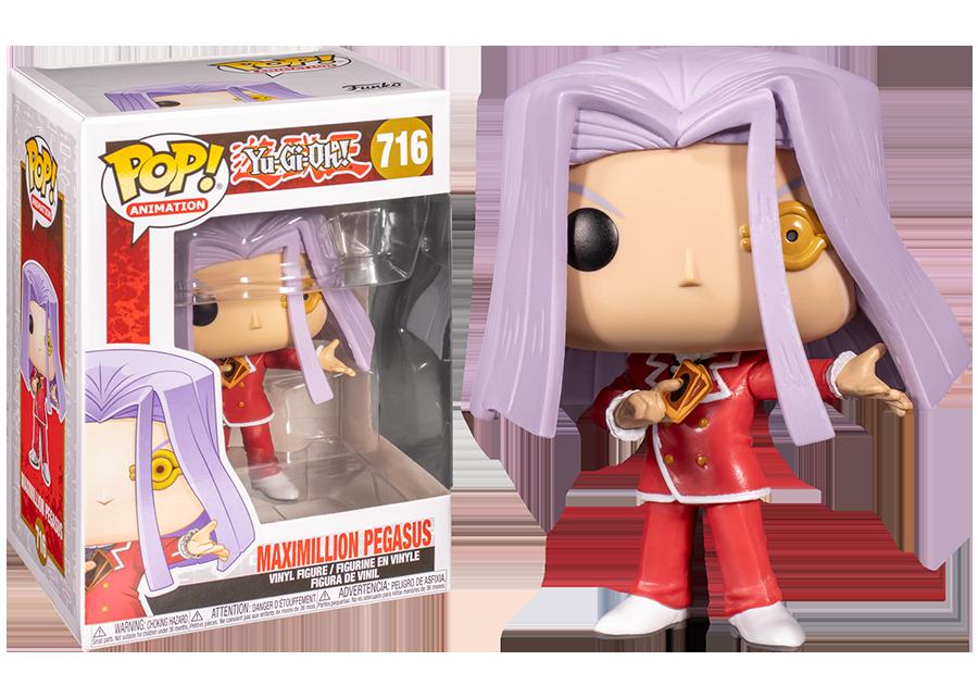 Funko Pop! Yu-Gi-Oh: Maximillion Pegasus #716