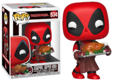 Funko Pop! Holiday Deadpool #534