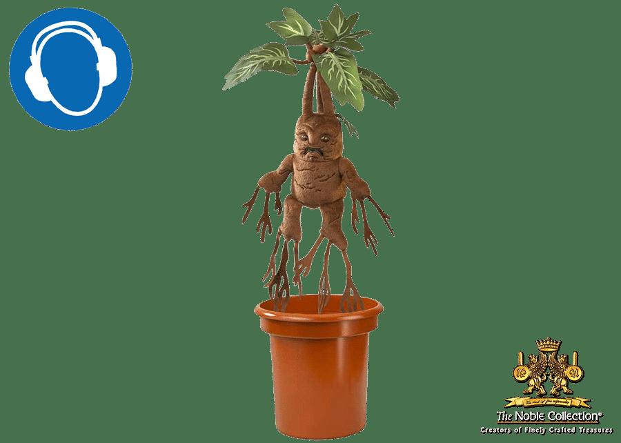 Harry Potter: Mandrake Interactive Plush