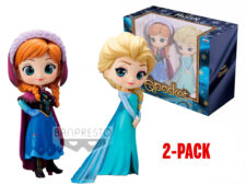 Q-Posket: Frozen - Anna and Elsa 2-Pack