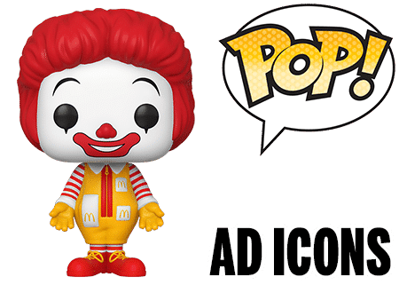 Funko Pop Ad Icons