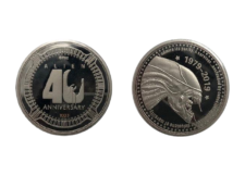 Collectable Coin: Alien 40th Anniversary