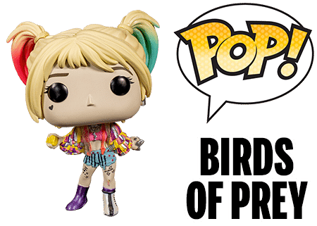 Funko Pop Birds of Prey Harley Quinn