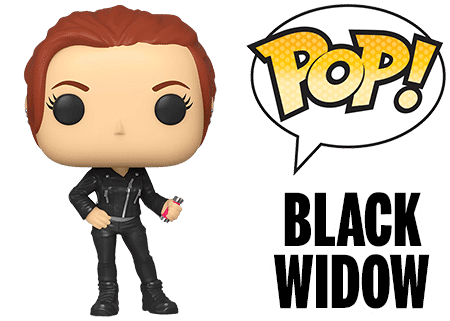 Funko Pop Black Widow Marvel