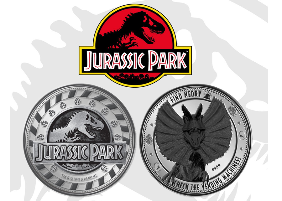 Collectable Coin: Jurassic Park Find Nedry
