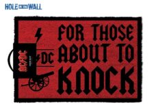 Doormat: AC/DC - For Those About to Knock