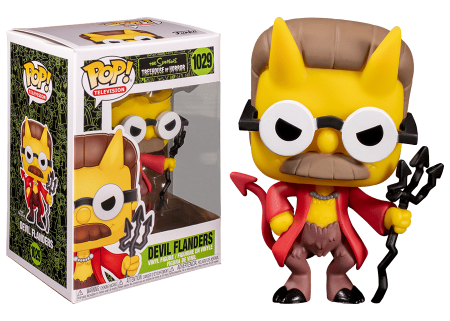 Funko Pop! The Simpsons: Devil Flanders #1029