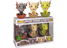 Funko Pop! Game of Thrones: Drogon Viserion and Rhaegal