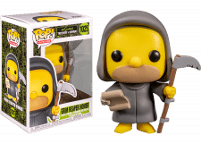 Funko Pop! The Simpsons: Grim Reaper Homer #1025