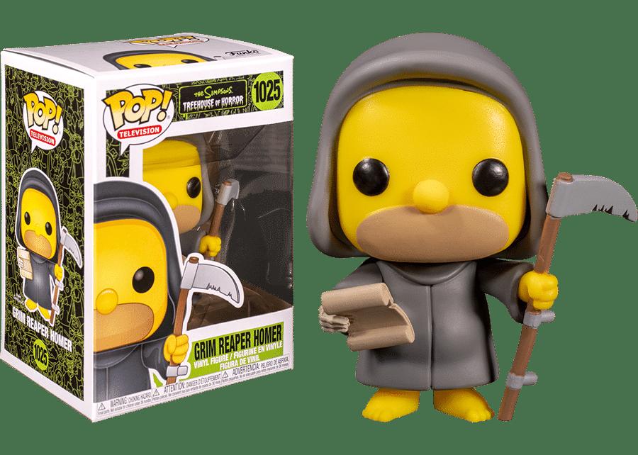 Funko Pop! The Simpsons: Grim Reaper Homer #1025