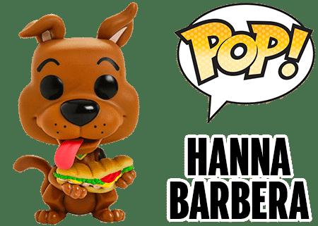 Funko Pop Scooby Doo Flintstones Hanna Barbera