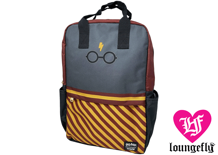 Loungefly: Harry Potter Square Backpack