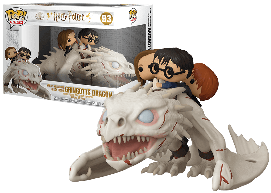 Funko Pop! Harry Potter: Gringotts Dragon #93